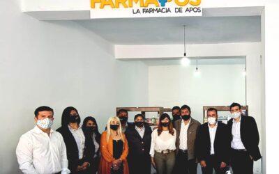 APOS inauguró un nuevo Punto FARMAPOS en Vinchina