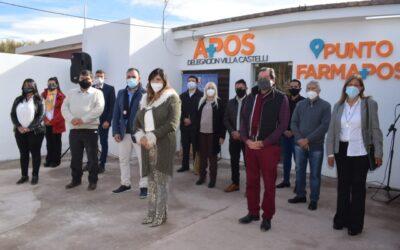 APOS inauguró un nuevo Punto FARMAPOS en Villa Castelli