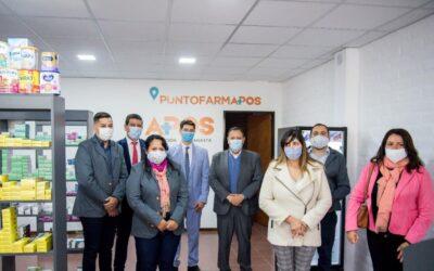 Sanagasta ya cuenta con una delegación de APOS y su Punto FARMAPOS