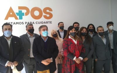 En Chañar se concretó la primera inauguración del Corredor Los Llanos de Puntos FARMAPOS