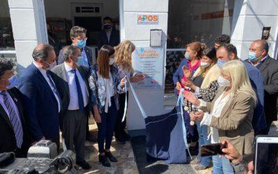 El nuevo Punto FARMAPOS en la ciudad de Chamical sumará beneficios a más de 7 mil afiliados y afiliadas