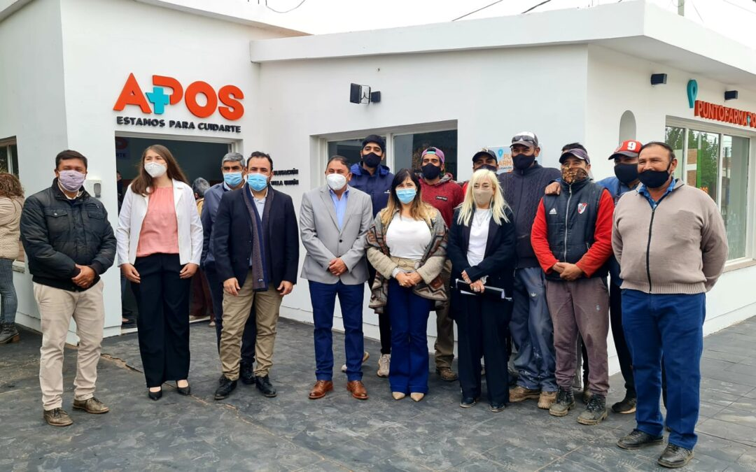 APOS concluye el Corredor Valle del Bermejo con la inauguración del Punto FARMAPOS Villa Unión