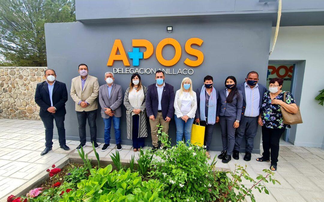 APOS inauguró la remodelación y puesta en valor de la delegación de Anillaco