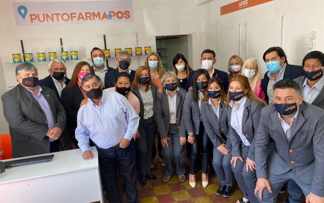 APOS renovó su delegación y abrió un nuevo FARMAPOS en Ulapes